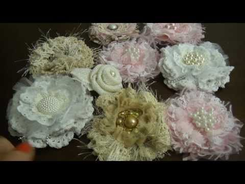 ▶ Hand made flowers and keys. - YouTube