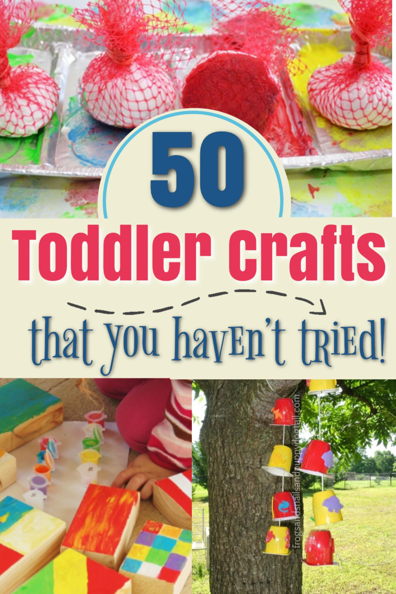 50 Perfect Crafts For 2 Year Olds