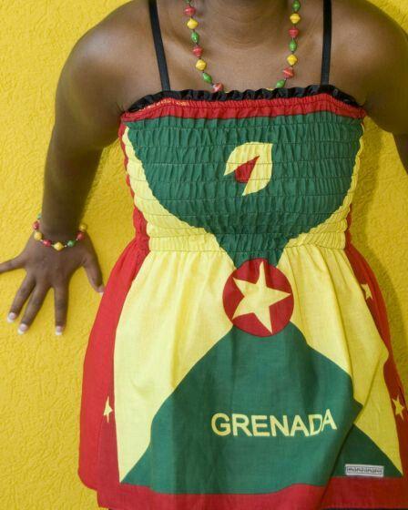 Grenada Flag Dress  1d900dce4