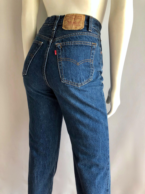 0733e517 Vintage Women's 80's Levi's 501, Jeans, High Waisted, Straight Leg, Denim  (S) by Freshandswanky on Etsy