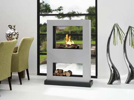 Chimney Designs For An Eco Friendly Home Ethanol Fireplace
