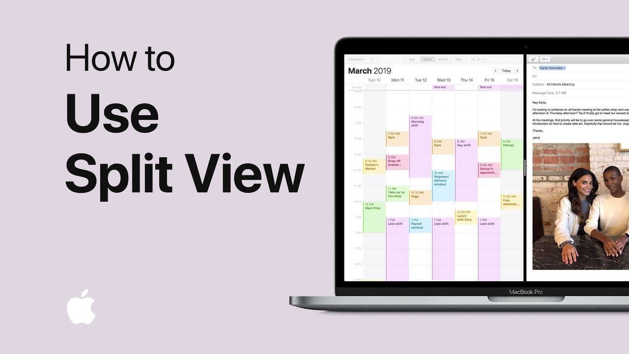 How to use split view on your mac apple support