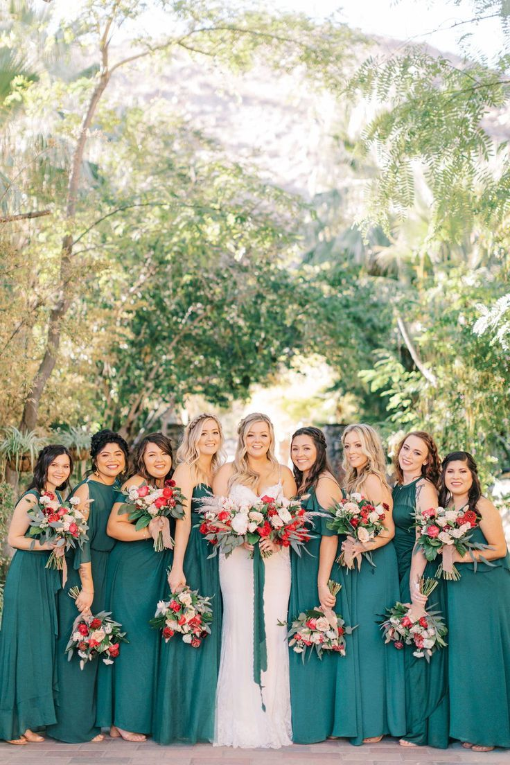 Photo of This Bohemian Desert Wedding in Palm Springs Featured Plenty…