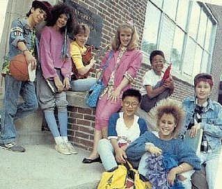 Dh Episodes Degrassi Vip Fashion Australia 1980s Fashion