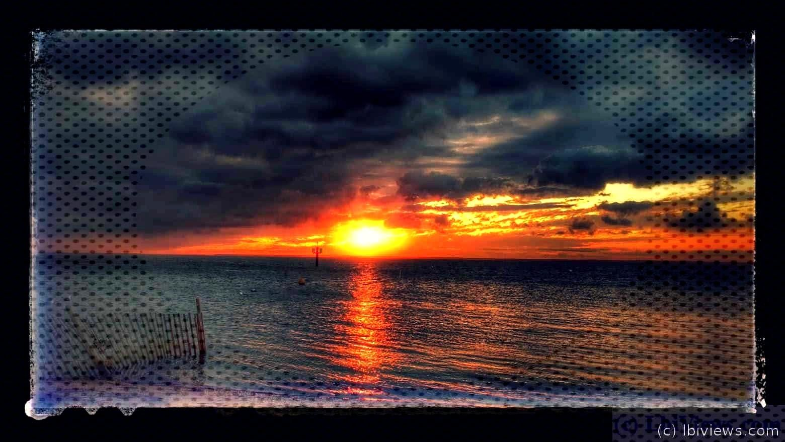 ust a slide show of sunsets.   Sunsets Sept 2016 - LBI Views  .Sunsets from September 2016 Click an