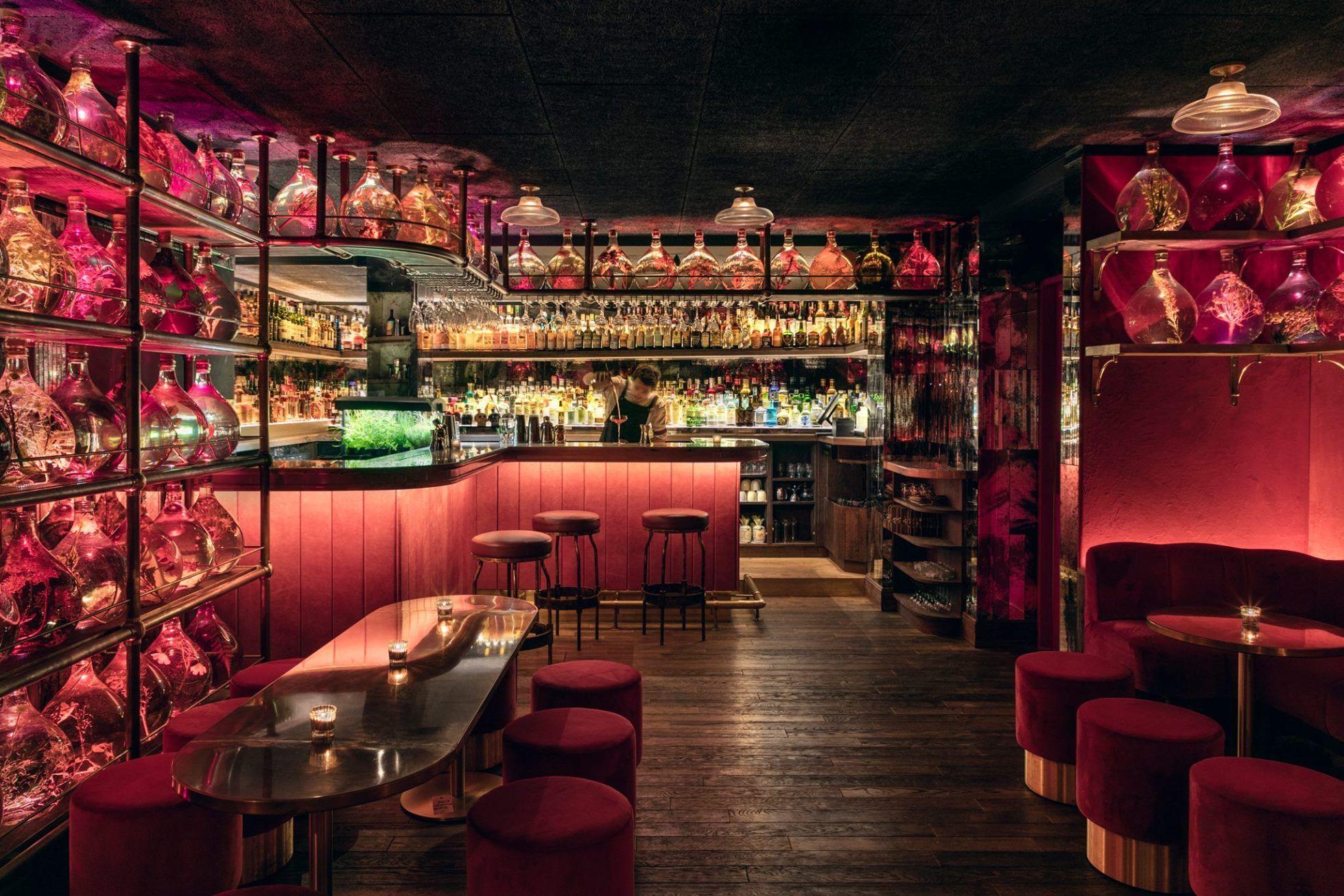 Speakeasies The Top Ten Hidden Bars In Paris The Earful Tower Cocktail Bar Interior Hidden Bar Cocktail Bar Design