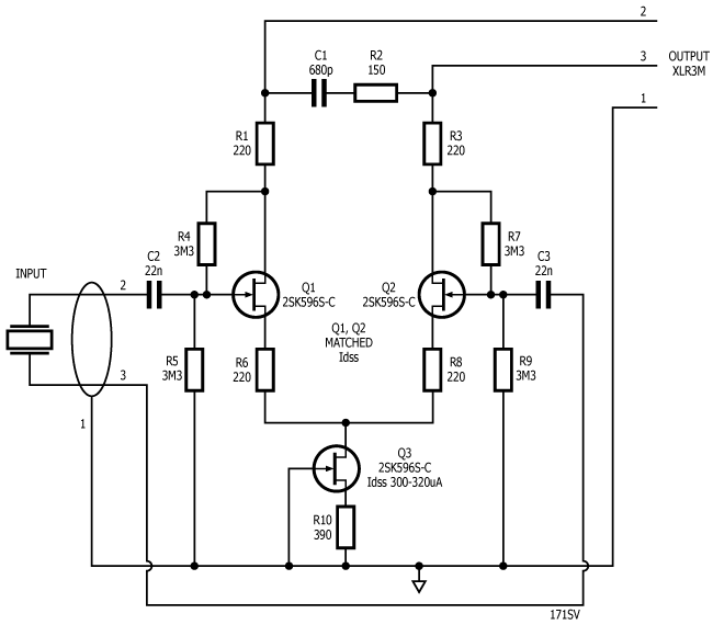 Phantom Piezo Preamp – revisited   Stompville   beads in