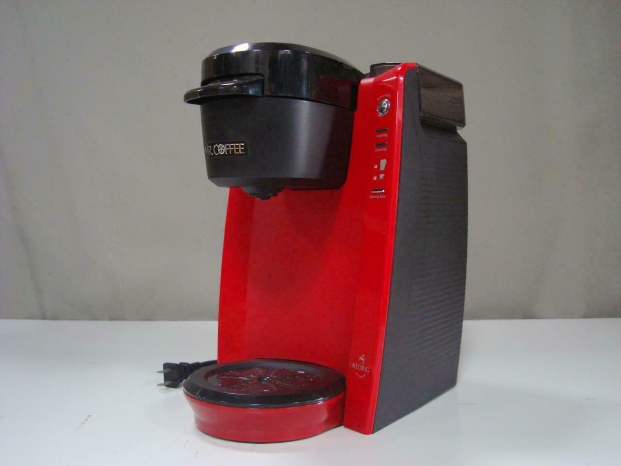 Details About Red Mr Coffee Keurig Brewed Single Cup Coffee Maker