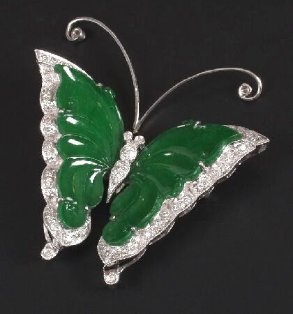 DIAMOND JADE BUTTERFLY