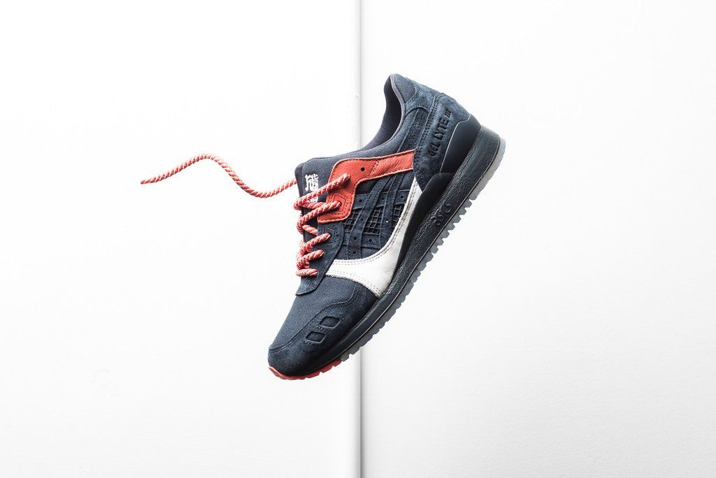info for b6c9b f2378 Kicks Lab x Asics Gel Lyte III - 'Hikeshi Hanten' | My Shoes