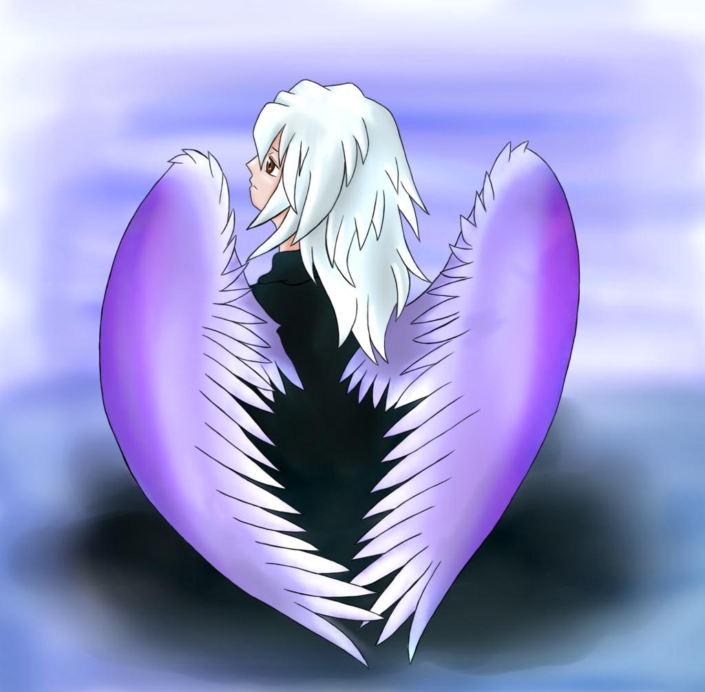 angel bakura ryou by ladybakura92