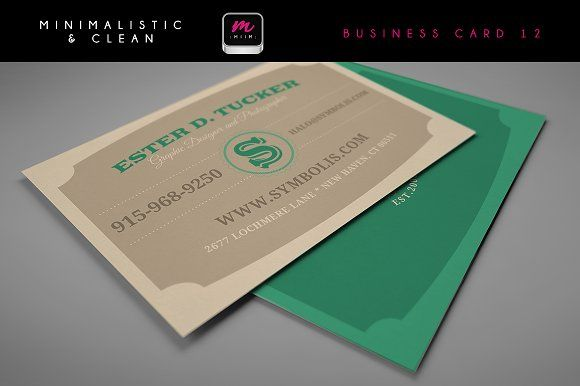 Clean Business Card Template 06 Minimal Business Card Business Cards Creative Templates Cleaning Business Cards