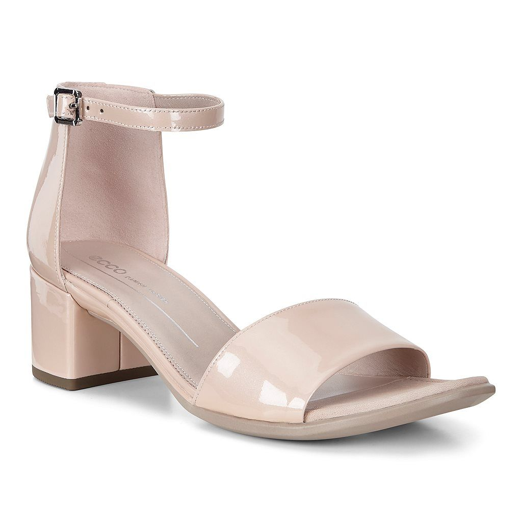 ecco shape block sandal
