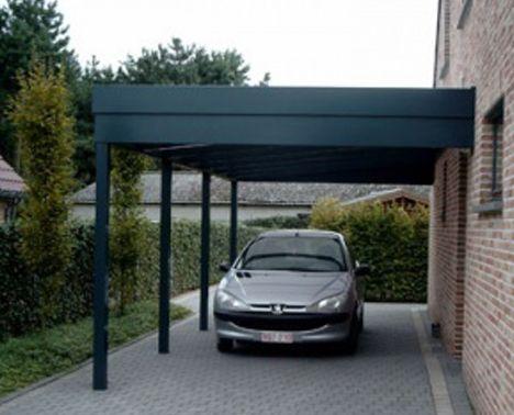 Aluminium Carports Op Maat Carport Buiten Terras