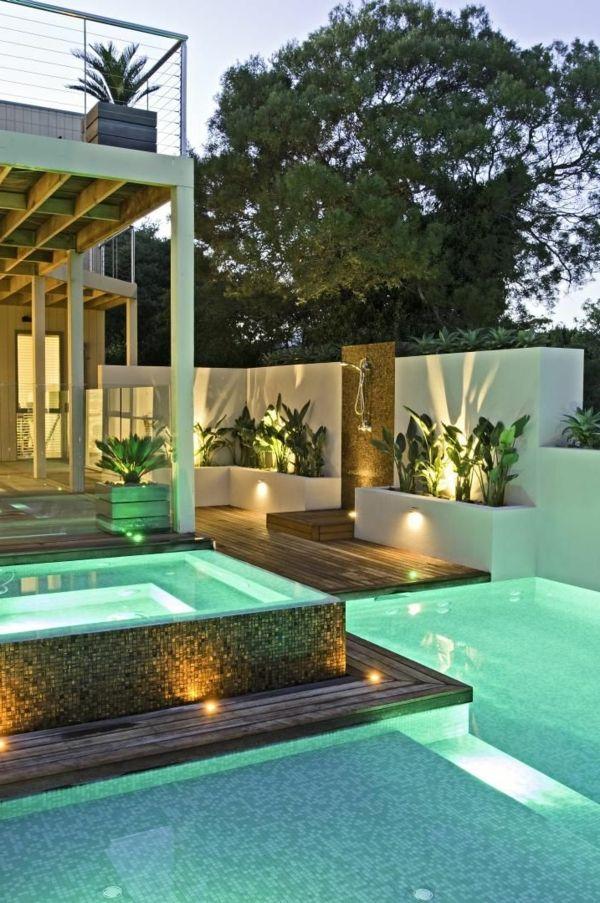 Votre piscine semi-enterrée - 30 idées créatives gardens - Residence Vacances Ardeche Avec Piscine