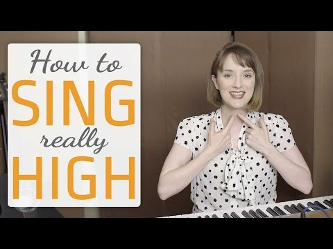 How to sing really high - Voice lesson on how to sing higher - YouTube #howtosing
