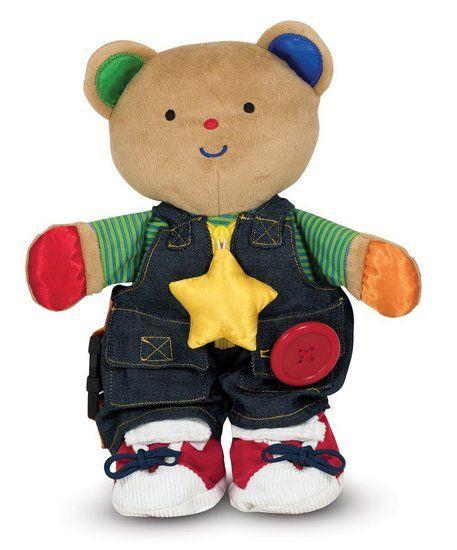 'Teddy Wear' Super-sized Learn to Dress Toy