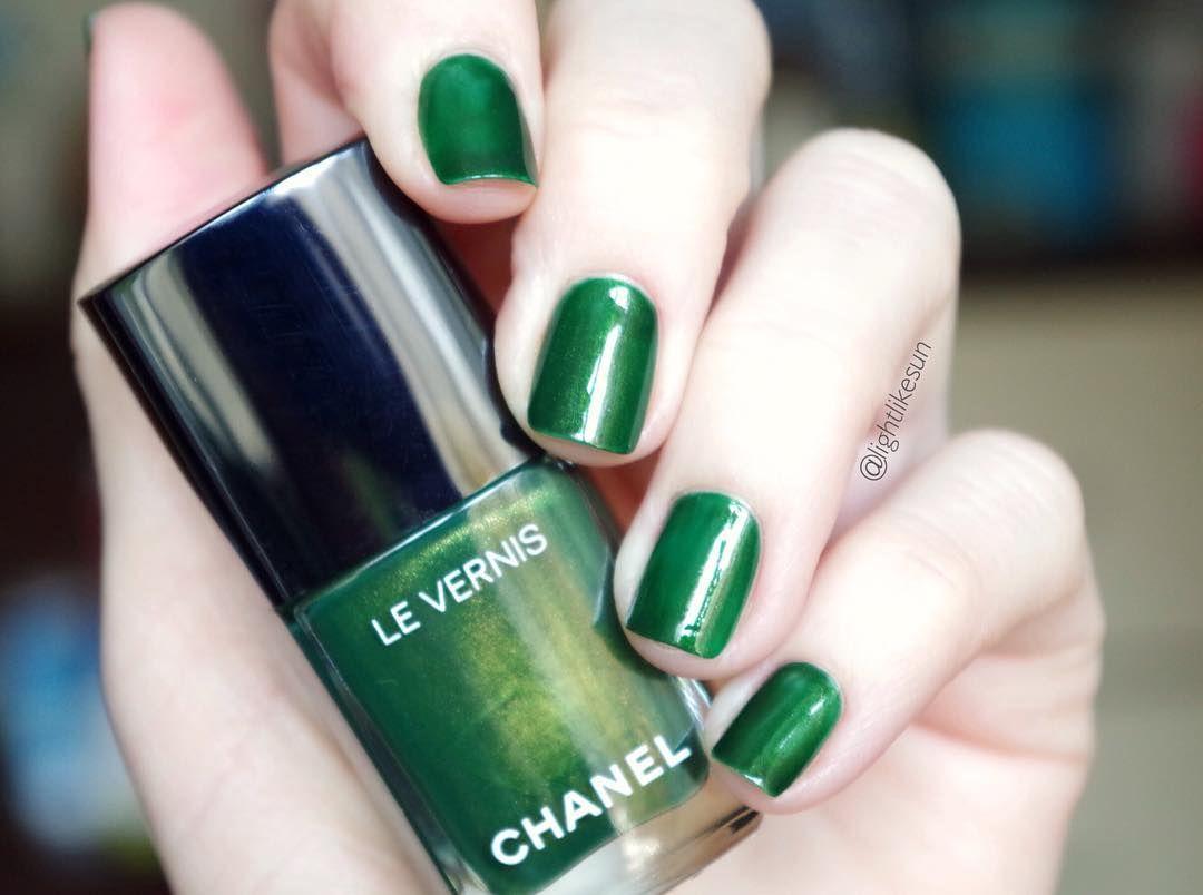 Chanel Le Vernis Summer 2016 Nail Polish in shade Emeraude 536 ...