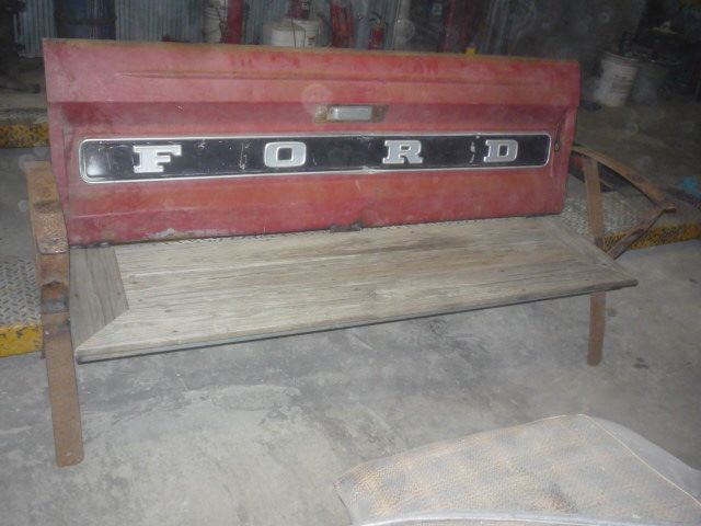 Ford Tailgate bench SOLD