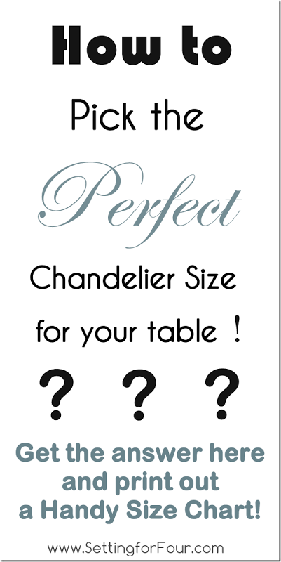 Design Tip  How To Pick The Perfect Chandelier Size And Printable