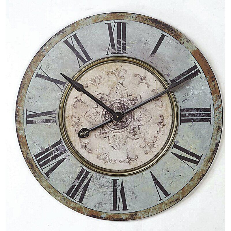 Kenn Round 29 Wall Clock In 2020 Big Wall Clocks Farmhouse