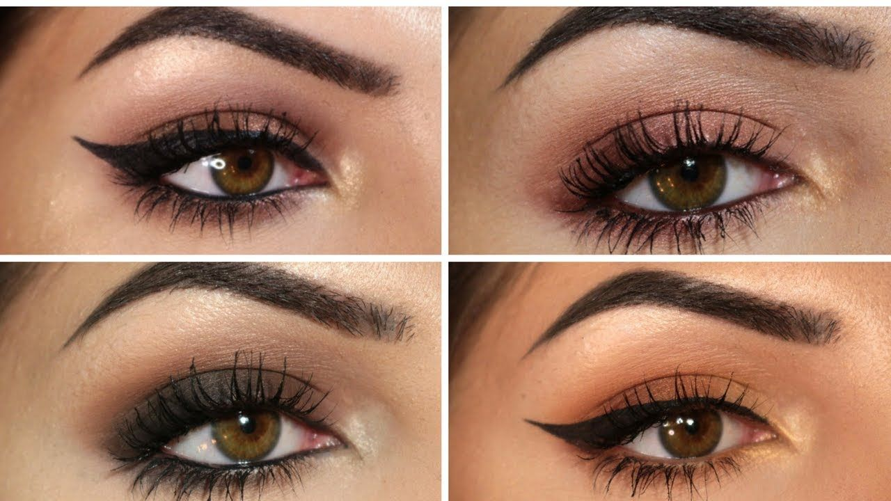 Four looks, one palette ABH Soft Glam YouTube Smoky