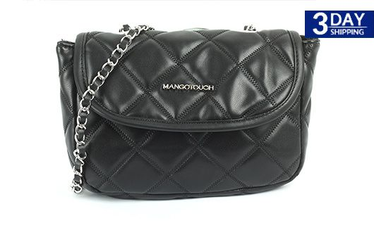 Get 60% #discount on Mango Quilted Chain Sling Bag