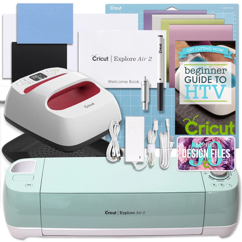 Cricut Mint Explore Air 2 and EasyPress Bundle #cricutexploreair2projects