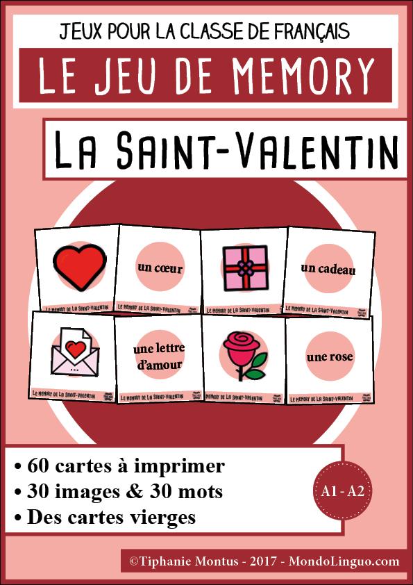 Telechargez Imprimez Et Decoupez 60 Cartes Pour Jouer Au Memory De La Saint Valentin Et De L Amour Contenu Du Pd Saint Valentine St Valentin Valentines Cards