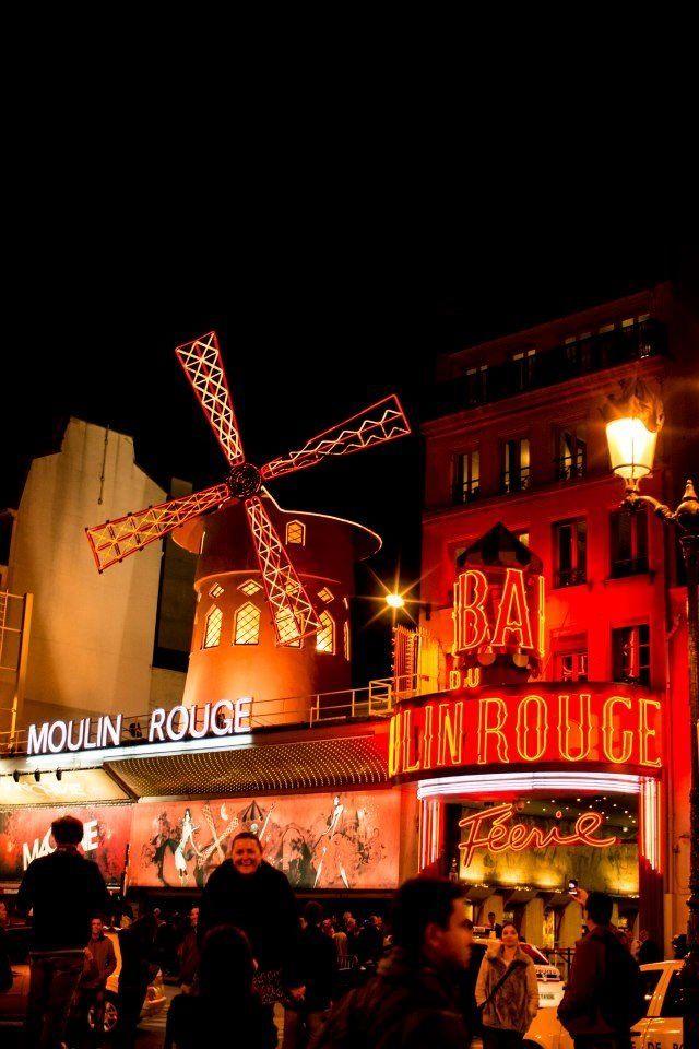 The Moulin Rouge. Paris, France