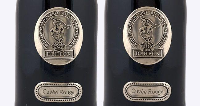 Etiketten Aus Metall Deutscher Wein Flaschen Etiketten