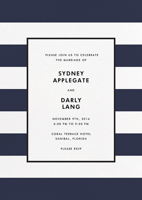 stripe invitation by kate spade new york for paperless post