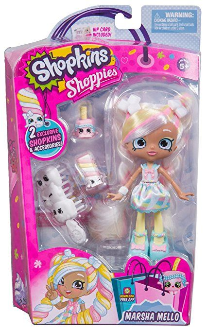 Shopkins Shoppies S3 Dolls Single Pack Marshmallow Shopkins And Shoppies Shoppies Dolls Shopkins Toys