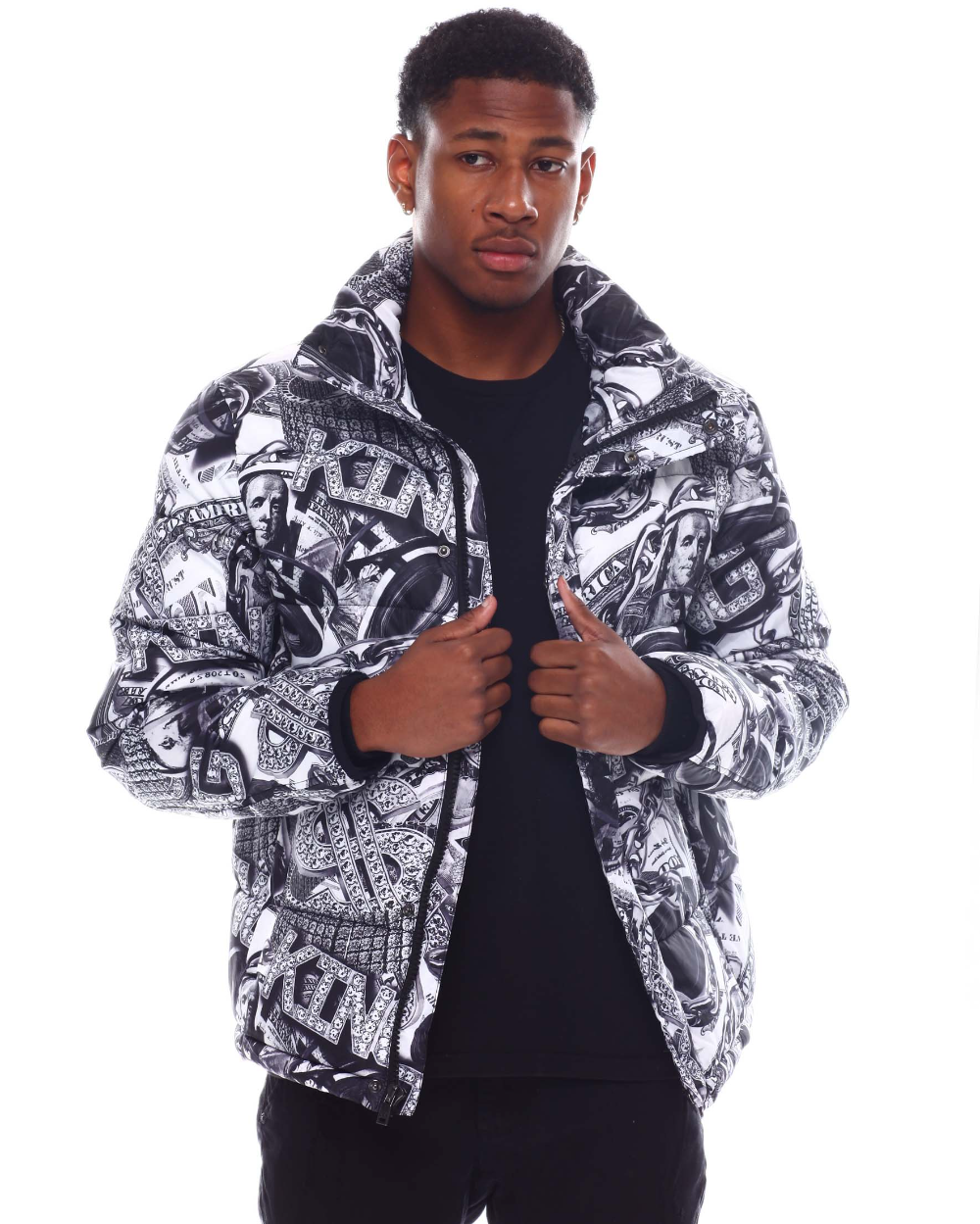 Buy King Bling Jewelry Jacket Men S Outerwear From Buyers Picks Find Buyers Picks Fashion More At Drjays Co Famous Stars And Straps Outerwear Sweater Hoodie [ 1249 x 1000 Pixel ]