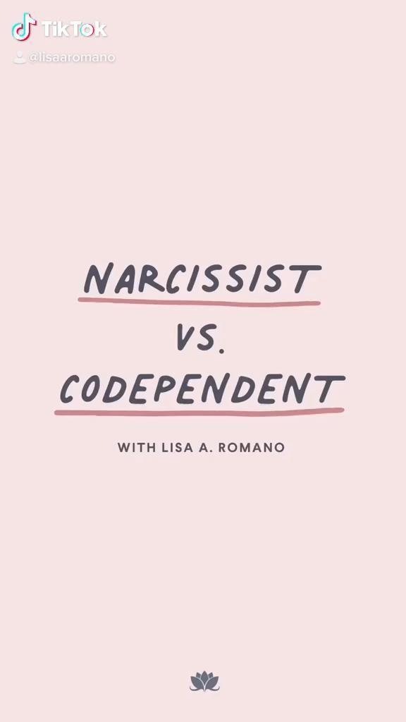 Narcissist vs Codependent