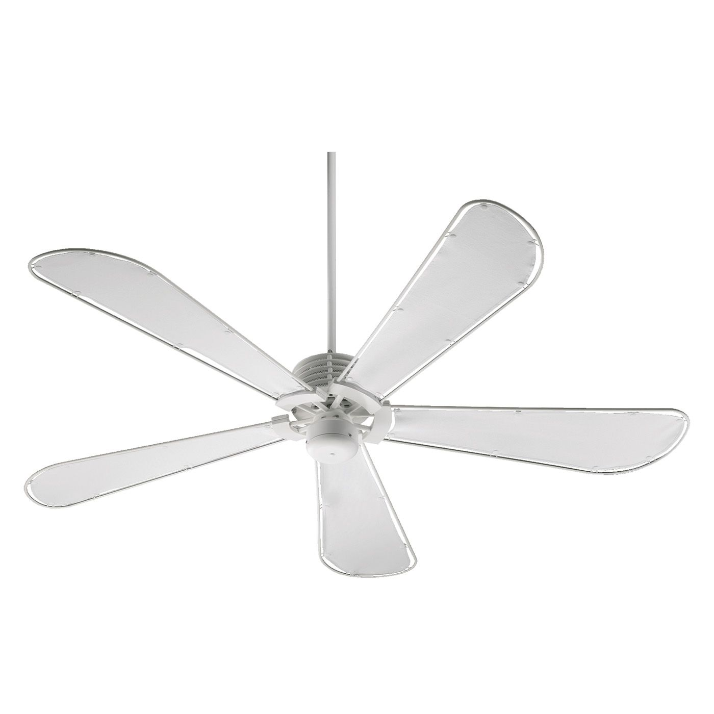 Quorum International 159605 8 60in Dragonfly Patio Ceiling Fan White Canvas Water Resistant Ceiling Fan Ceiling Fan Makeover 60 Ceiling Fan