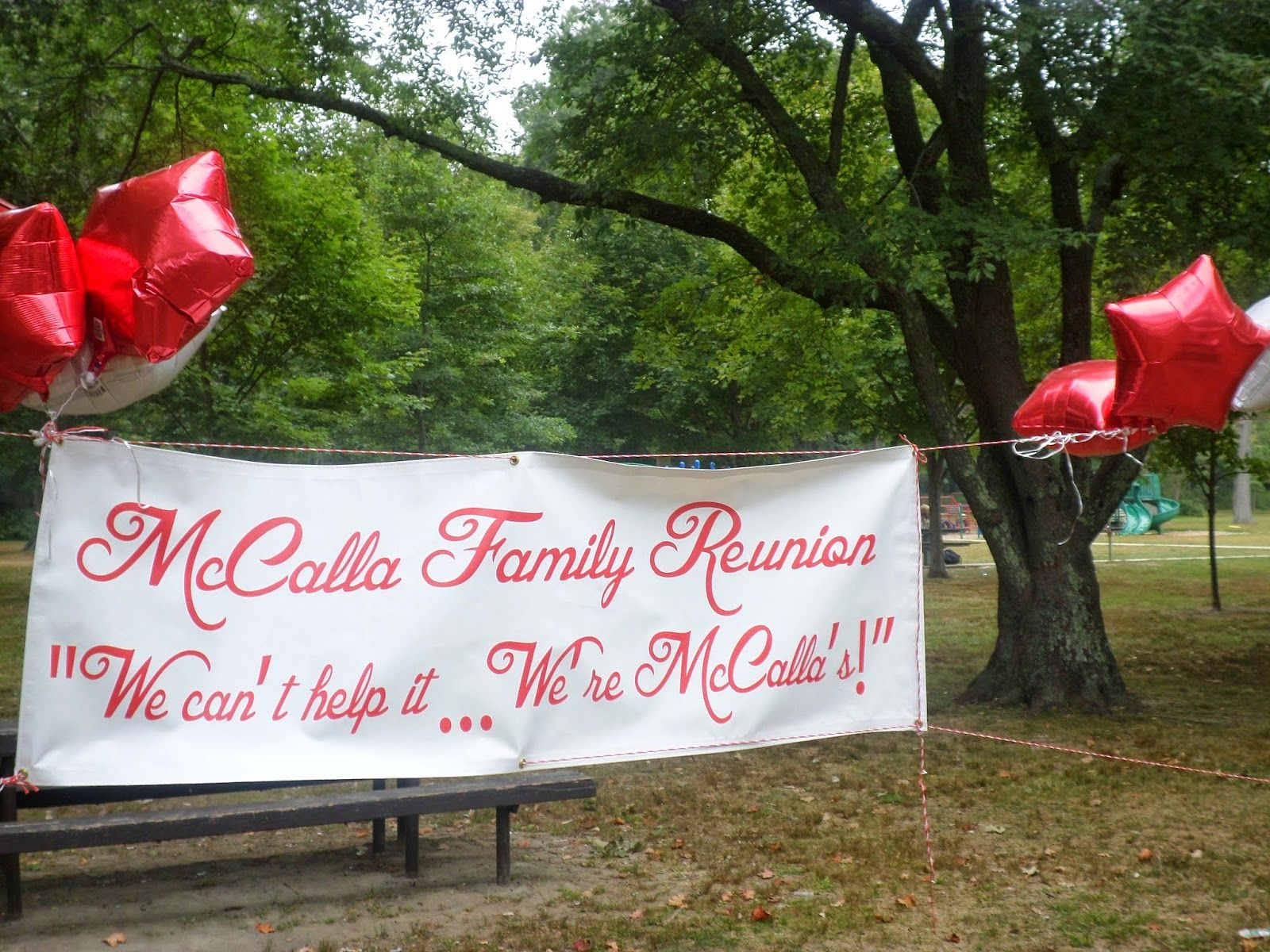 McCalla Family Reunion Banner Printed by Banners