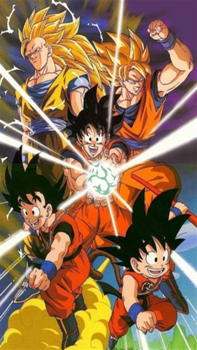Collection Of Dragon Ball Z Wallpaper Iphone On HDWallpapers 640x1136 17 Wallpapers