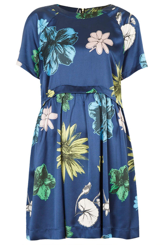 Tokyo Bud Tunic Dress - Clothing - Topshop
