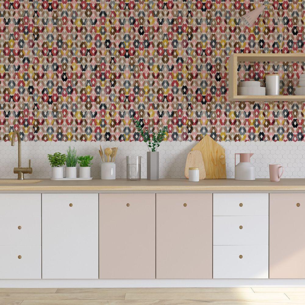 Papier Peint Pour Cuisine papier peint cuisine : idées tendance   papier peint cuisine