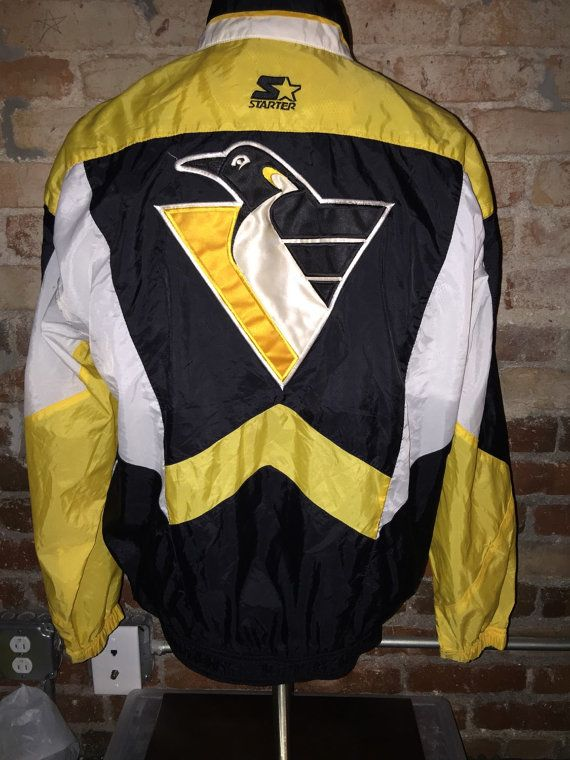 Vintage 90 s NHL Pittsburgh Penguins Starter Jacket by RackRaidersVintage c2369a52c