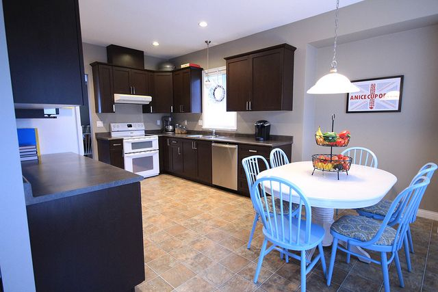 In January 2014 we completed refinishing our kitchen ...
