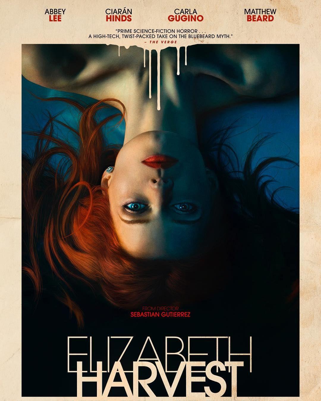 Elizabeth Harvest Poster Filme 2019 Filmes Cartaz