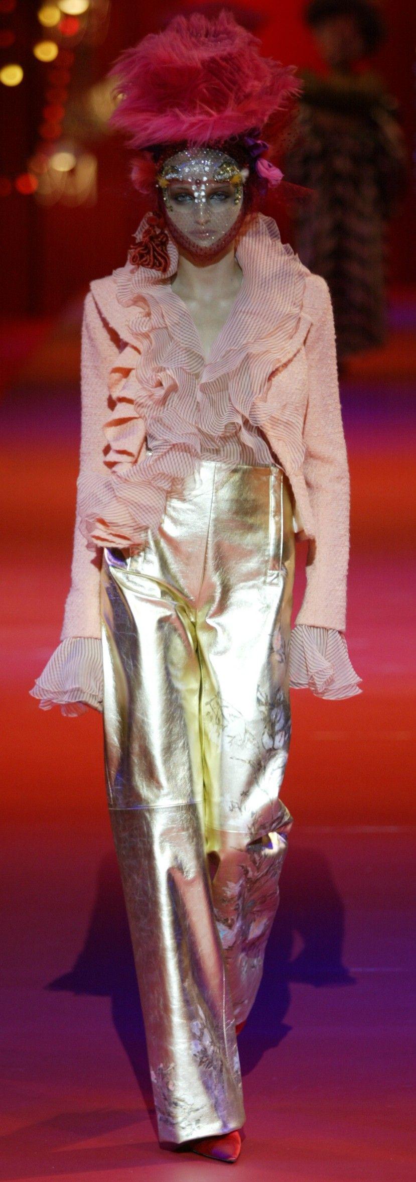 Christian Lacroix Haute Couture Autumn Winter 2002