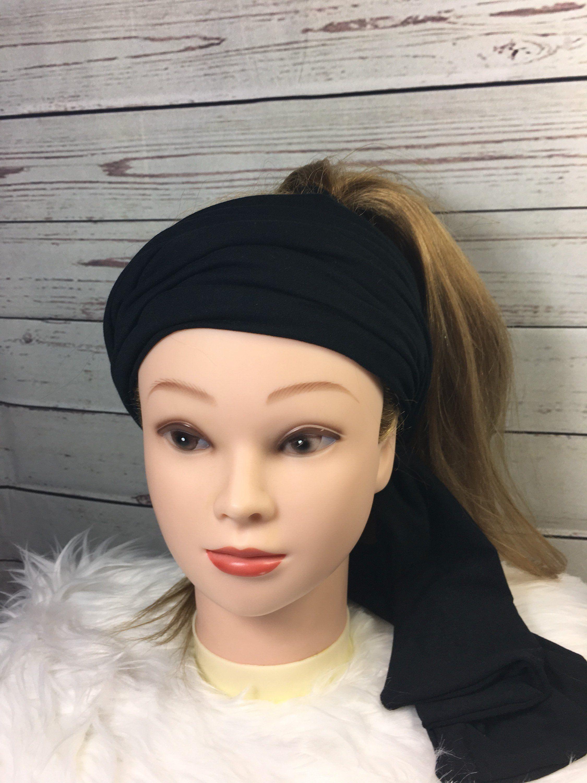 Black Turban Headband 5b9f8ba6333