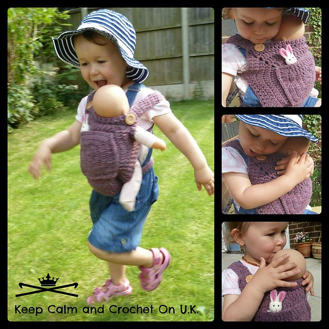Ravelry: Mini-Me Teddy/Doll Carrier pattern by Heather_C Gibbs