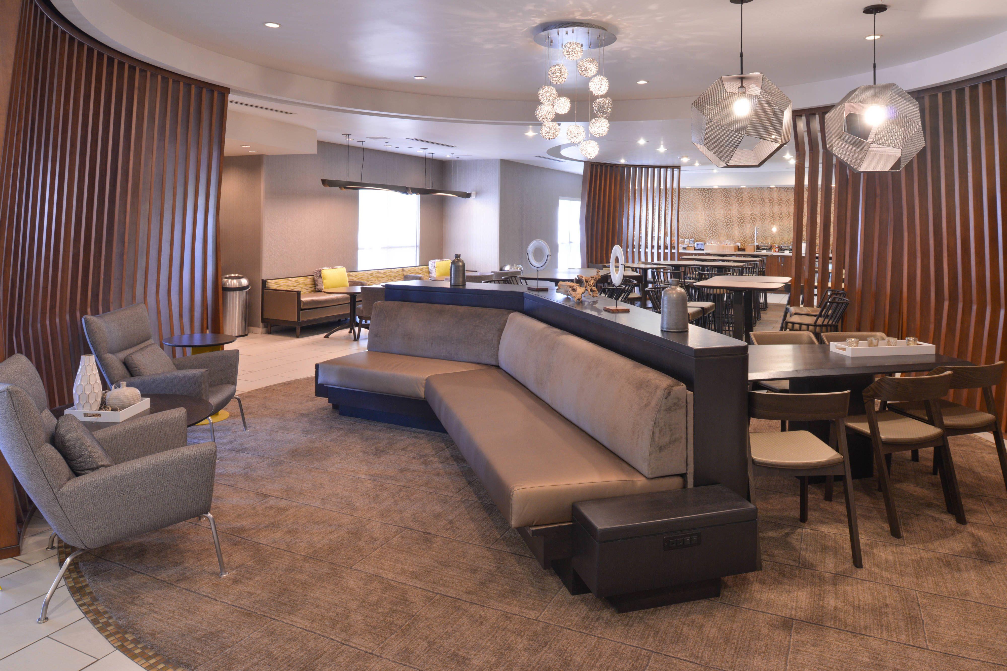 SpringHill Suites Las Vegas Henderson Lobby holiday,