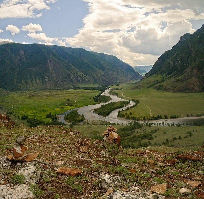 Kadim Ata Topraklari Altay Daglari Peyzaj Duzenlemesi Fikirleri Manzara Fotograf