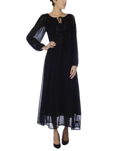 MES DEMOISELLES Women's Long dress Black 4 US