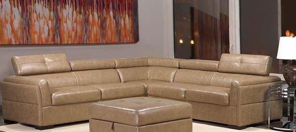 Mariano Furniture Wyatt Sectional Sofa Set In Beigi Cos129 Sec